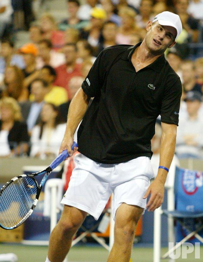 US OPEN TENNIS 2005