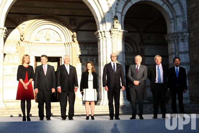 Meeting of Foreign Ministers of the G7 in Lucca.