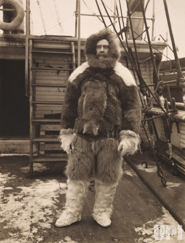 Robert Peary and Matthew Henson seek out the North Pole