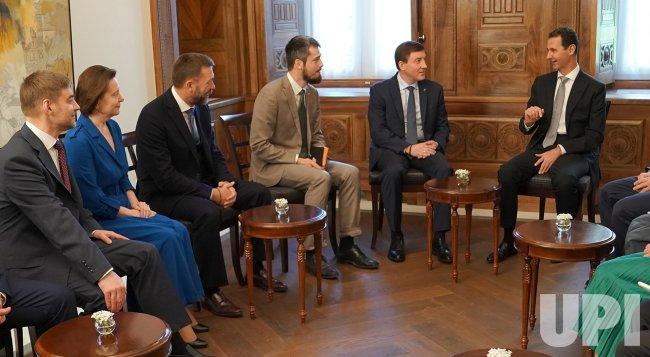 Syrian President Assad receives Russian delegation