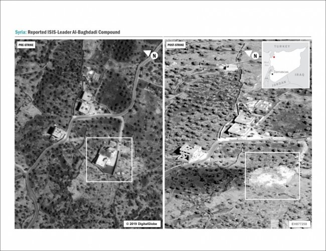 Abu Bakr Al-Baghdadi compound