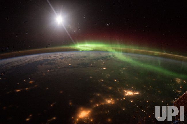 Aurora viewed from space