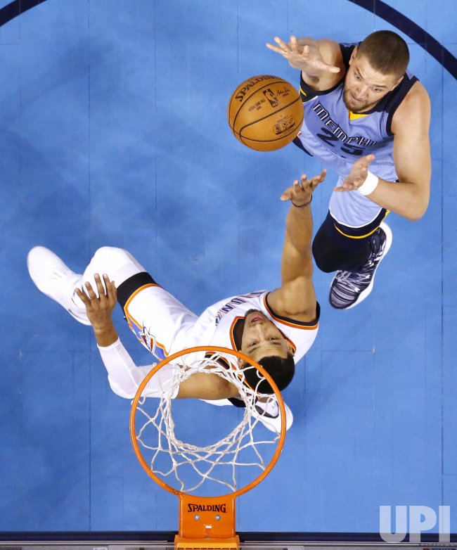 Memphis Grizzlies at Oklahoma City Thunder Basketball