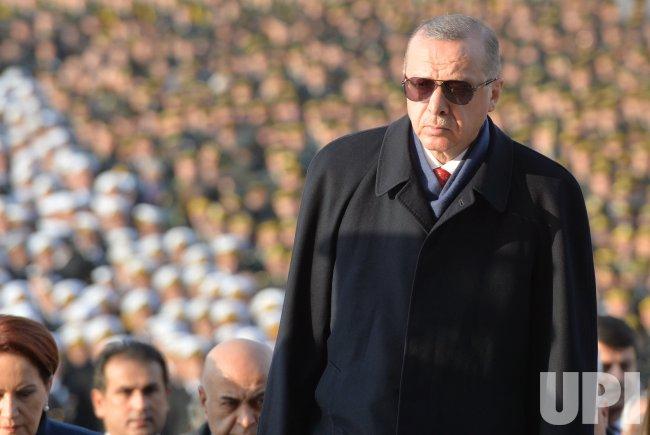 Ceremony marking the 80th death anniversary of Mustafa Kemal Ataturk