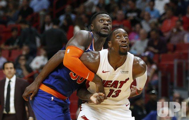 New York Knicks at Miami Heat