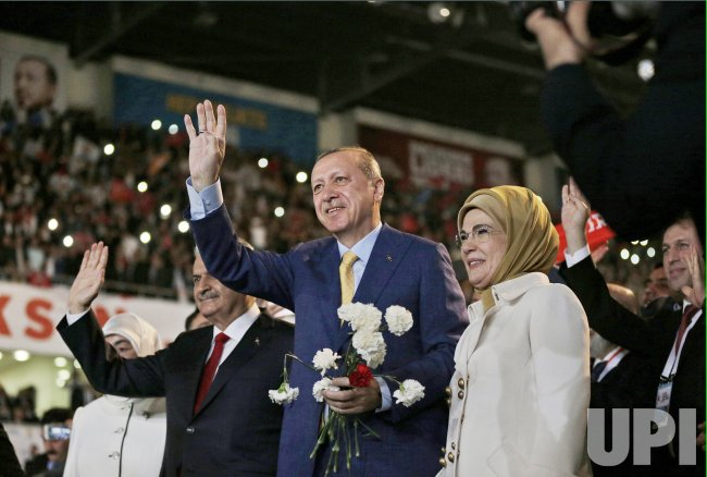 Turkey's ruling Justice and Development Party (AKP) extraordinary congress in Ankara