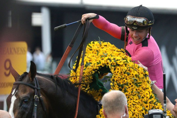Moments from the Preakness Stakes