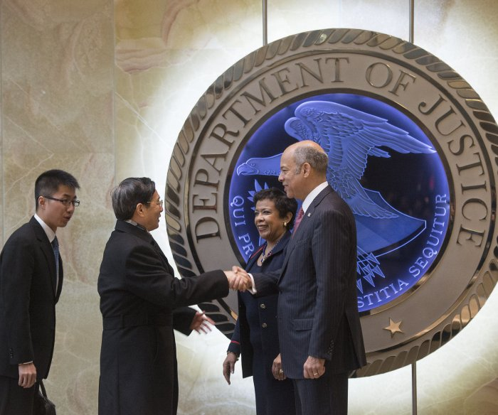 China-U.S. dialogue on cybercrime