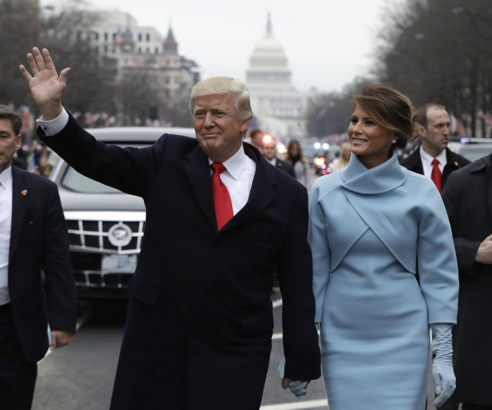 Pennsylvania Avenue hosts the inaugural parade