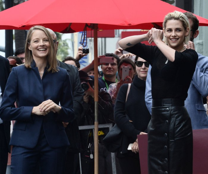 Jodie Foster gets a star on the Hollywood Walk of Fame