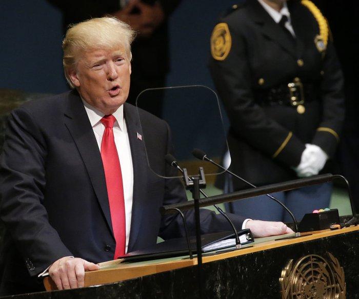 Trump champions North Korea policy in U.N. speech