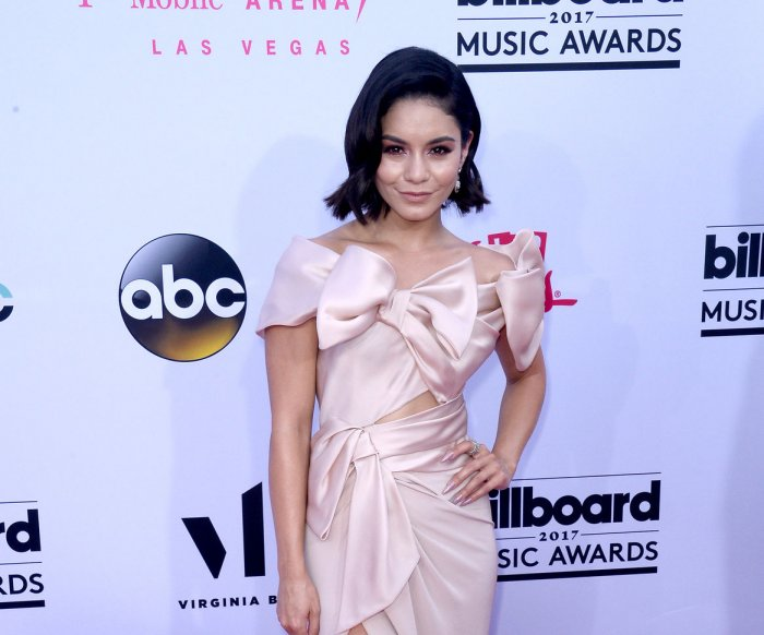 On the red carpet at the 2017 Billboard Music Awards in Las Vegas