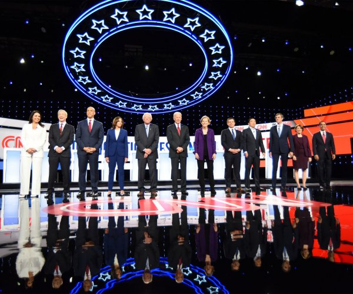 A dozen Democrats set to take stage at 4th primary debate
