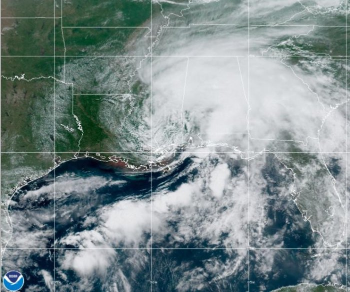 Claudette sparks flooding along Gulf Coast, spins up tornadoes