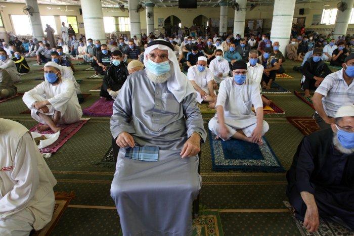 Palestinians celebrate Ramadan 2020
