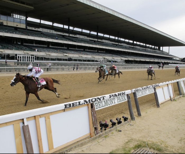 Tiz the Law wins Belmont Stakes in run without fans