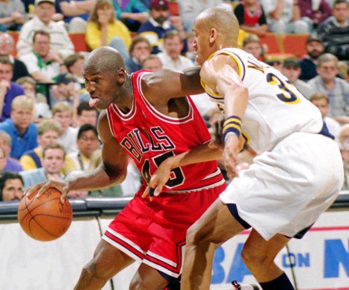 Moments from Michael Jordan's career