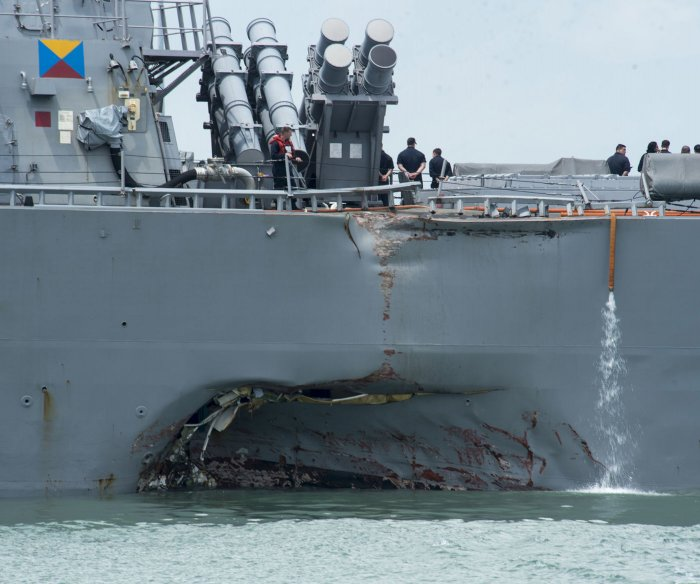 Navy orders review of Pacific fleet in wake of collision