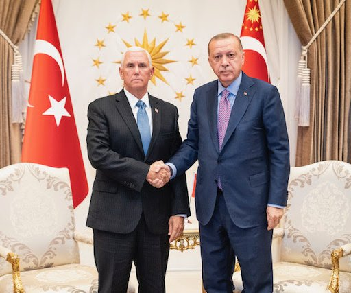 Pence: Turkey agrees to cease-fire in Syria, future 'safe zone'