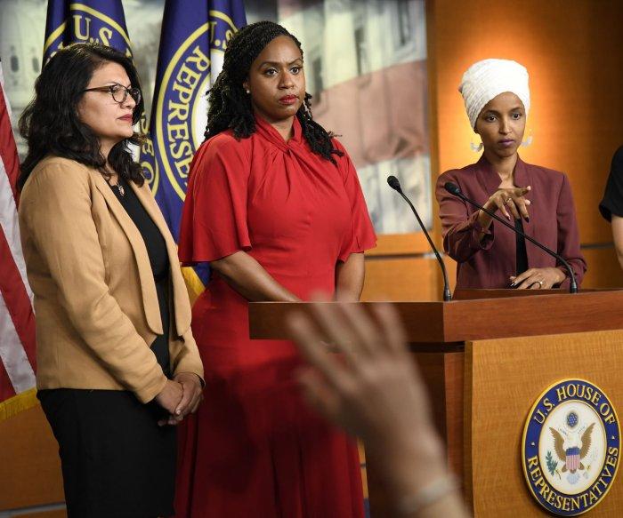 House votes to condemn Trump tweets targeting congresswomen