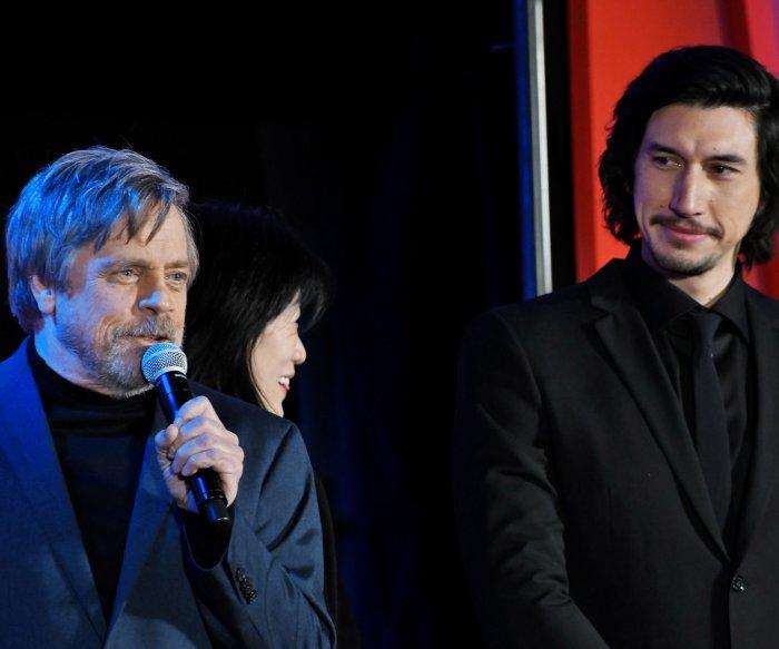 Adam Driver, Mark Hamill promote 'Star Wars: The Last Jedi' in Tokyo