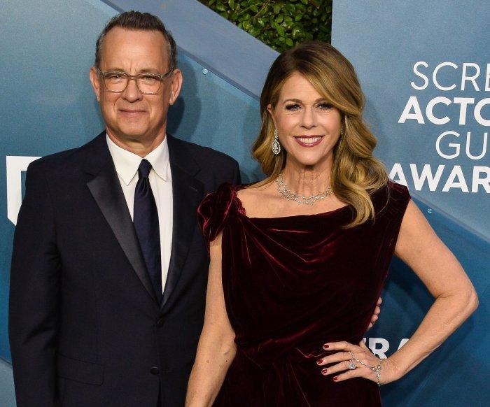 Tom Hanks, Rita Wilson back in U.S. after treatments in Australia