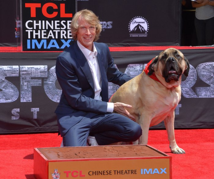 Michael Bay honored at Hollywood handprint ceremony