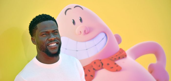Kevin Hart, Kristen Schaal attend 'Captain Underpants' premiere in Los Angeles