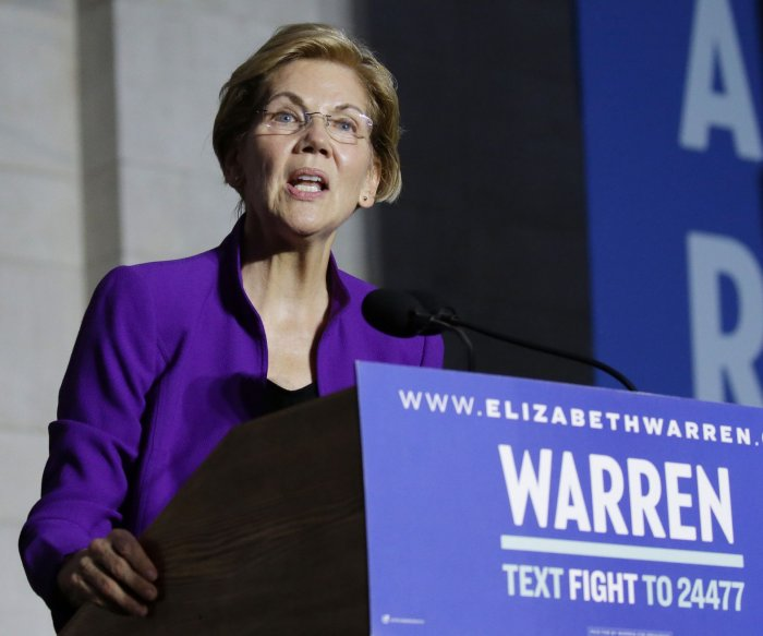 Medical report: Presidential hopeful Elizabeth Warren 'very healthy'