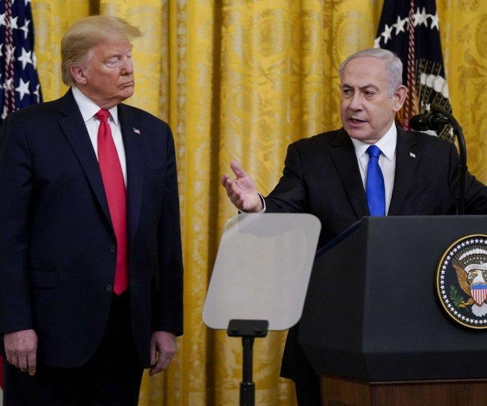 Trump's Mideast peace plan: 2 states, Palestine capital in East Jerusalem