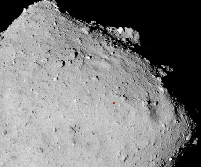 JAXA's Hayabusa-2 touches down on asteroid Ryugu
