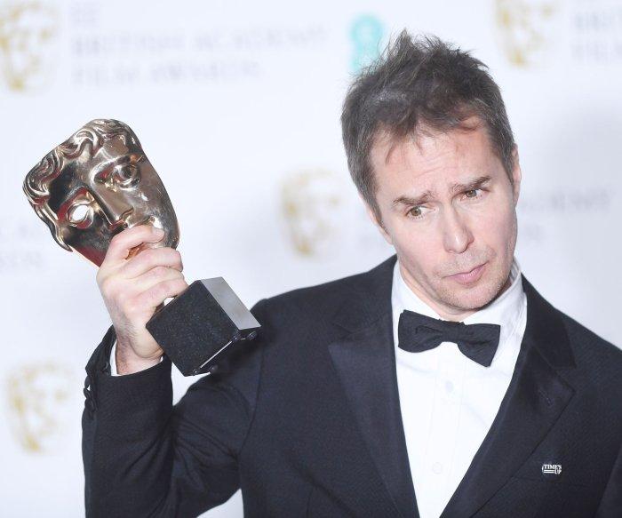 'Three Billboards' wins big at the BAFTAs