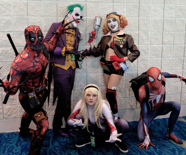 Moments from Supercon in South Florida