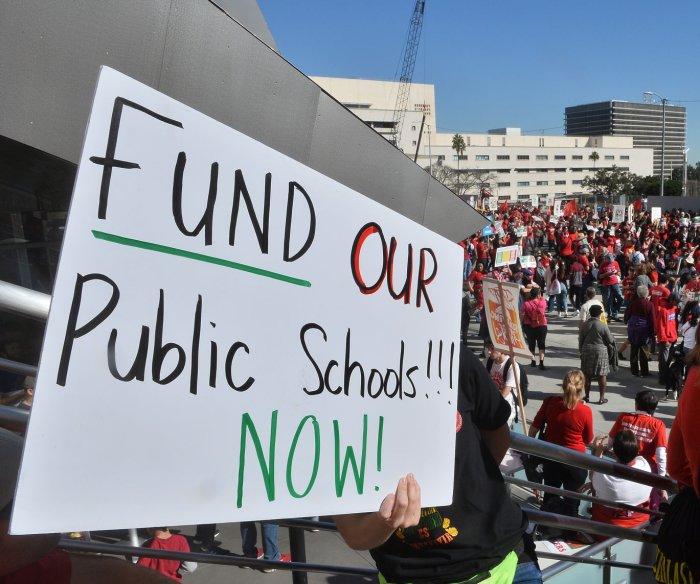 After LA walkout, Denver teachers vote to strike