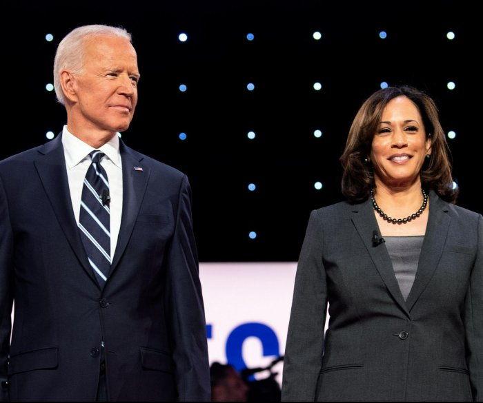 Biden, Harris accuse GOP of rushing Barrett to dismantle ACA