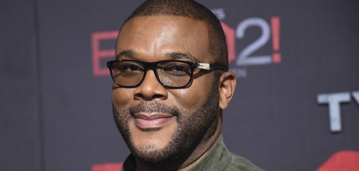 Tyler Perry, Patrice Lovely attend 'Tyler Perry's Boo 2! A Madea Halloween' premiere