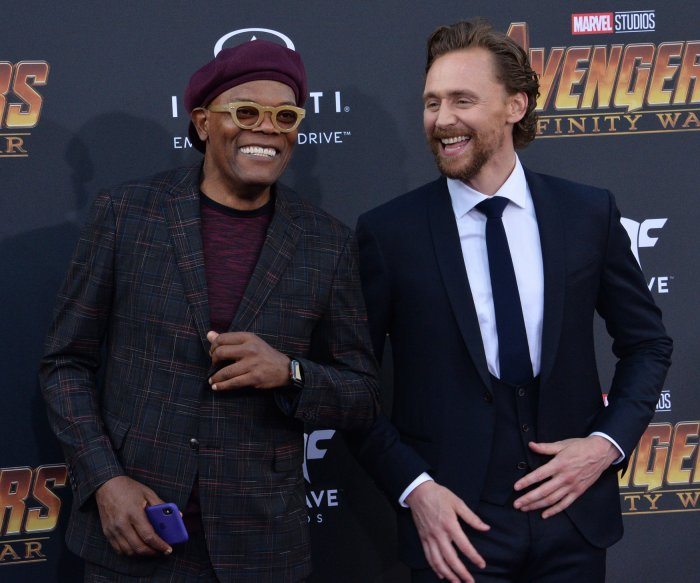 Tom Hiddleston, Robert Downey Jr. attend 'Avengers: Infinity Wars' premiere