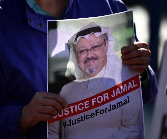 U.S. sanctions 17 in Khashoggi case; Saudi officials charge 11