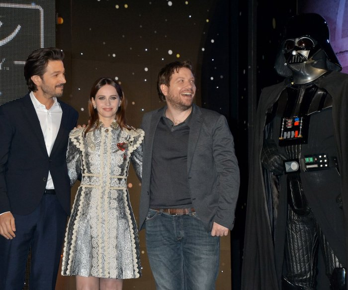 The 'Rogue One: A Star Wars Story' premiere in Tokyo