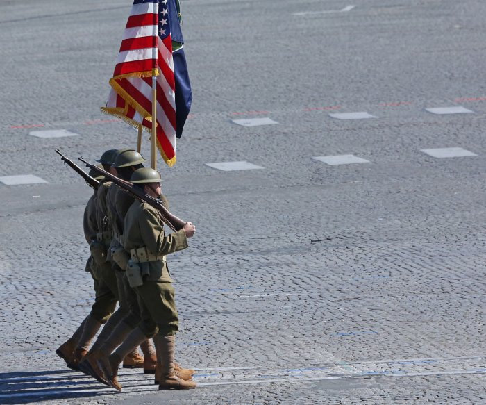 House passes $717B defense bill that covers military parade