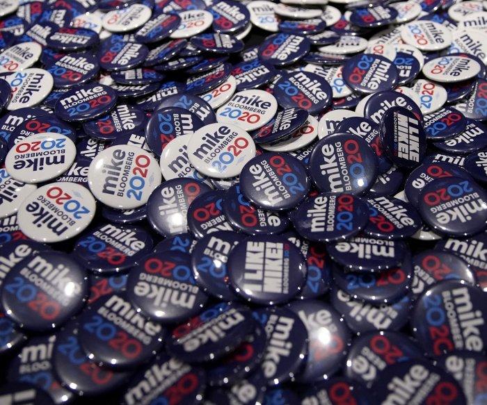 6 Democrats, including rising Bloomberg, set for debate in Las Vegas