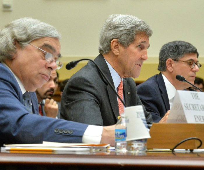 Secretaries Kerry, Lew and Moniz testify on the Iran Nuclear Deal