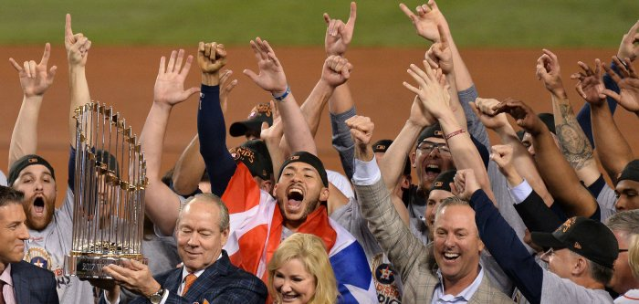 Moments from 2017 World Series: Dodgers vs. Astros