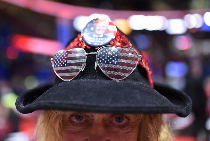 Day One at the Republican National Convention in Cleveland