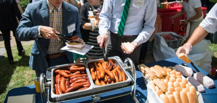 Highlights from the National Hot Dog Lunch in Washington, D.C.