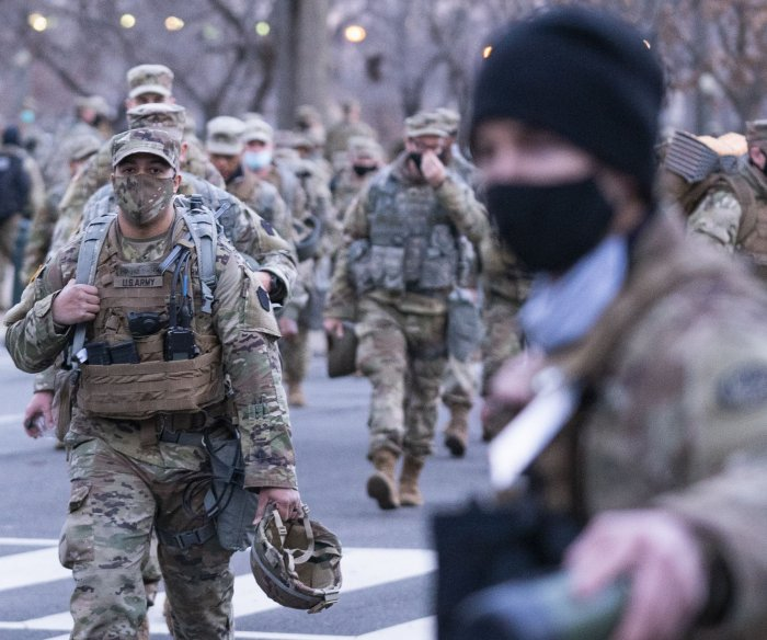 Pentagon to vet National Guard for 'insider threat' ahead of inauguration