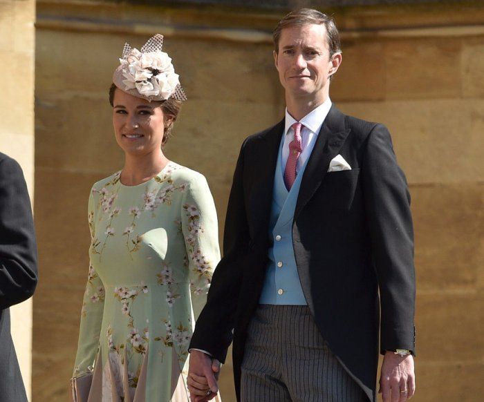 Pippa Middleton gives birth to baby boy in London