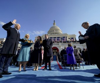 Inauguration Day for Joe Biden, Kamala Harris