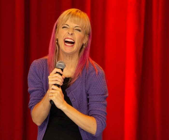 Comedian Maria Bamford finds 'relief' in sharing her struggles