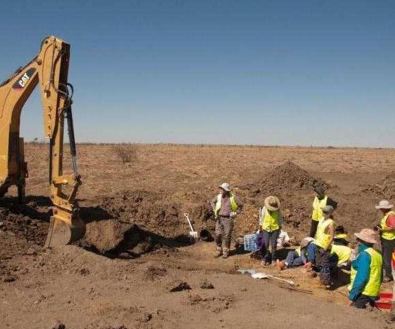 Scientists rediscover lost burial site of famed long-necked sauropod
